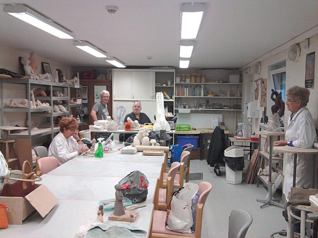"""Atelier """"Art et Création Universels"""", Gabriel Guliani, Alain Bocquet, JS Roose-Nys"""